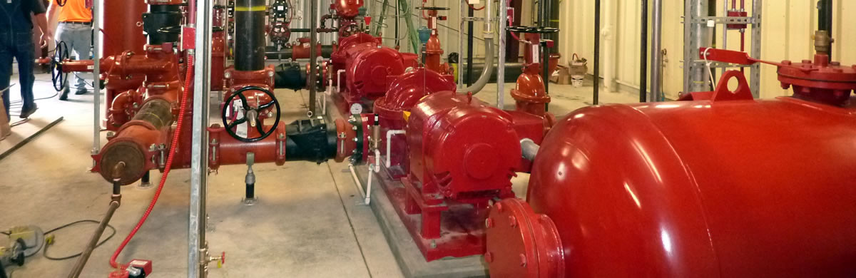 <p>Fire protection system<br /> design and commissioning</p>